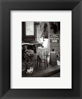 Framed La Terrasse