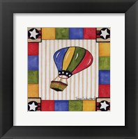 Up and Away III Framed Print