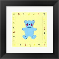 Alphabet Animals I Framed Print