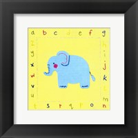 Framed Alphabet Animals II
