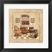 Romantic Bath III Framed Print