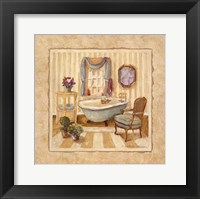 Romantic Bath IV Framed Print