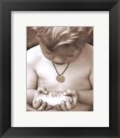 Framed Little Boy - Love