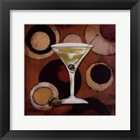 Martini Cocktail Framed Print