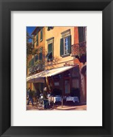 Framed Cafe Capri II