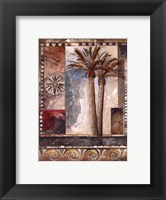 Framed Paradisiacal Palm I