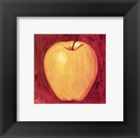 Framed Apple on Cherry
