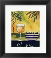Framed Olive