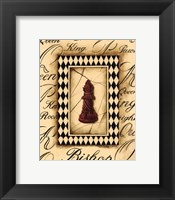 Framed Chess Bishop - Mini