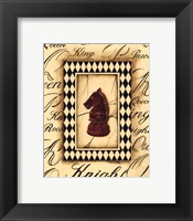 Framed Chess Knight - Mini