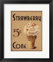 Malt Shop I Framed Print