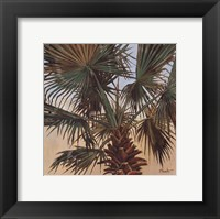 Solitary Palm - Mini Framed Print