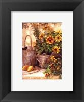 Framed Sunflower Garden II