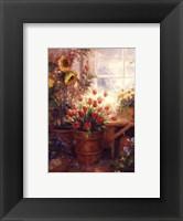 Framed Sunflower Garden I