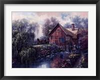 Framed Willow Creek Mill