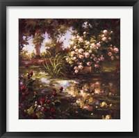 Juliet's Garden III Framed Print
