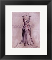 Framed Gray Gown