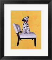 Framed Riley The Dalmatian Puppy