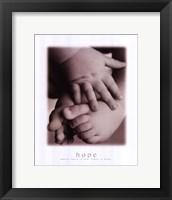 Framed Hope - Infant Hands Feet