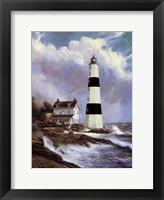 Framed Coastal Beacon