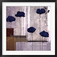 Les Coquelicots I Framed Print