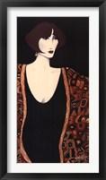 Gilded Robe Framed Print