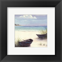 South Coral Beach Framed Print