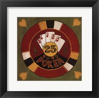 Framed Poker - $25