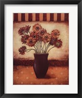 Red Daisies Framed Print