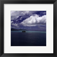 Island Sanctuary Framed Print