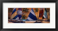 Grand Bay Sails Framed Print