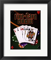 Framed Five Card Draw