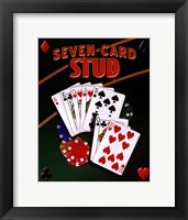 Framed Seven Card Stud