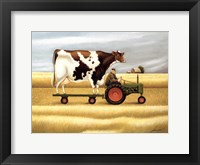 Ride To The Fair Framed Print