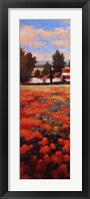 Framed Tejados Rojos I