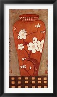 Asian Vase I Framed Print