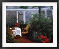Framed Garden Room