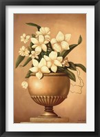 Framed Golden Blossoms I