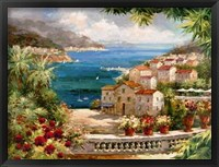 Harbor Vista Framed Print