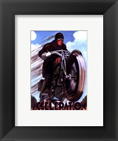 Acceleration Framed Print