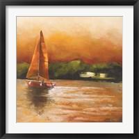 Framed Majorcan Sail I