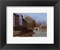 Framed Quai d' Anjou