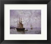 Framed Seascape Image I