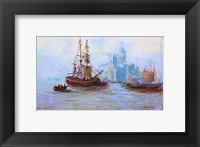 Framed Seascape Image IV