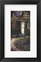 Framed Cobblestone Entry I