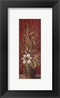 Bamboo and Lilies Framed Print