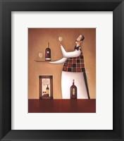 Framed Carte Des Vins
