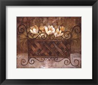 Framed Ironware and Crocus I