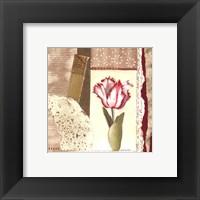 Framed Parrot Tulip Montage II