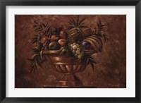 Framed La Frutta Classica